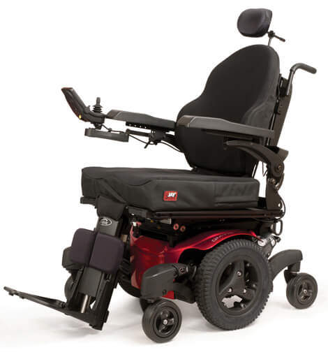 Traction Wheelchair Lift : Quickie qm power wheelchair