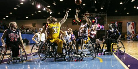 Tyler Thorn's Wheelchair Basketball