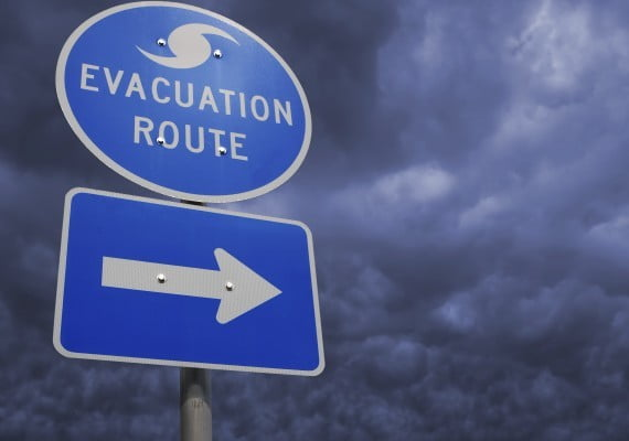 disaster preparedness for people with disabilities Disaster Preparedness for People with Disabilities Hurricane Evacuation Route1 570x400