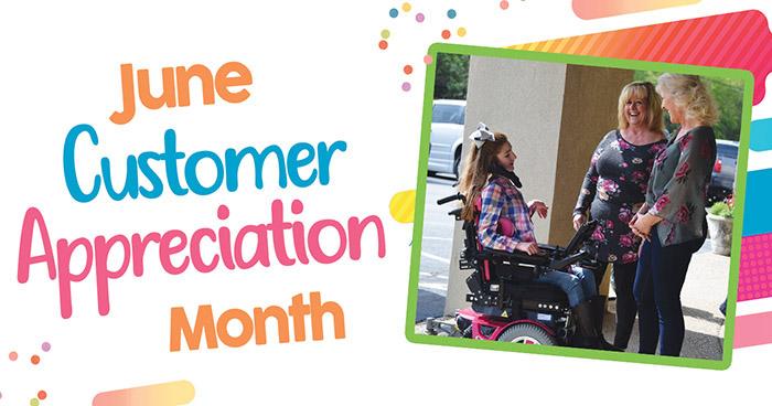 Access 2 Mobility June Customer Appreciation Month